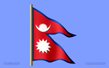 nepal flag in hindi