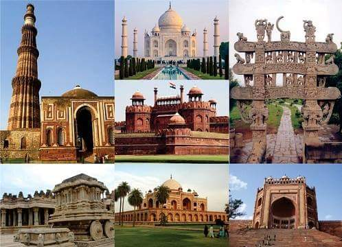 Historical Structures in Hindi