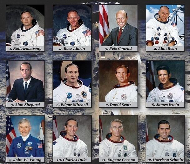 चाँद पर जाने वाले लोग