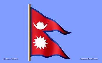 nepal flag in hindi
