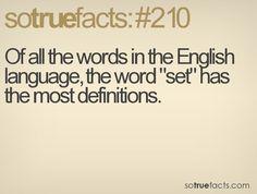 set word