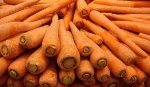 orange carrots hindi