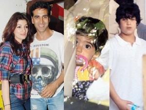 अक्षय कुमार अपने परिवार के साथ