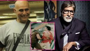 पुनीत इस्सर और अमिताभ के साथ कुली फिल्म का वह दृश्य जिस में अमिताभ को चोट लगती है
