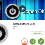 Android Mobile की Screen सिर्फ 1 Touch में कैसे Off करें !