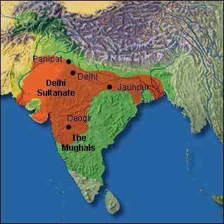 Delhi Sultanate History Gk in Hindi