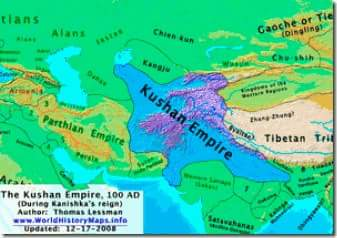 Kushan Empire History Gk in Hindi