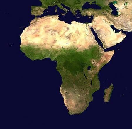 africa in hindi
