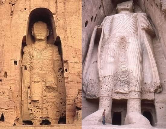 bamiyan buddha in hindi
