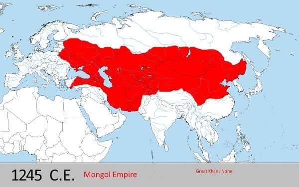 changej khan empire in hindi