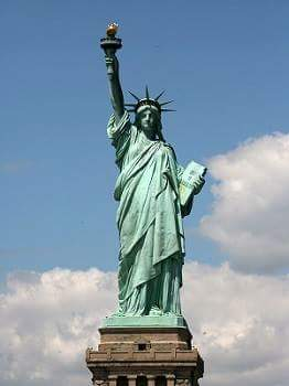 statue of liberty history in hindi