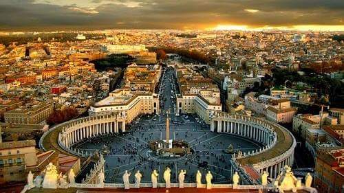 Vatican City is a shiv temple