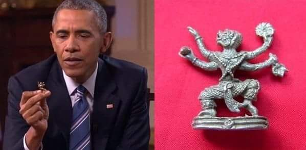 Barack Obama Hanuman ji hindi