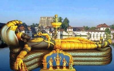 padmanabhaswamy temple bhagwan vishnu ki murti in hindi