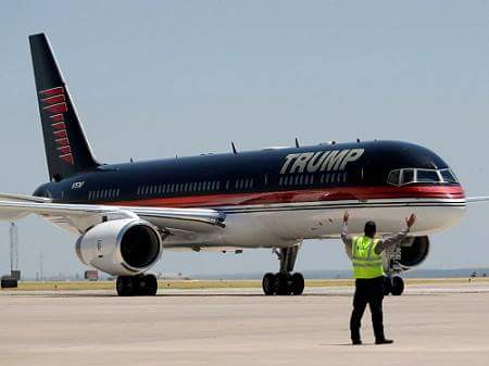 donald trump plane hindi facts