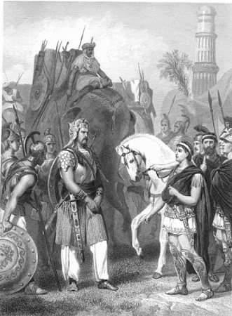 porus raja hindi