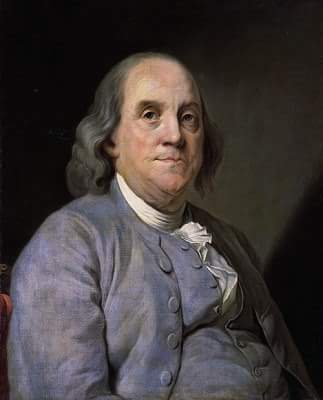 About Benjamin Franklin in Hindi