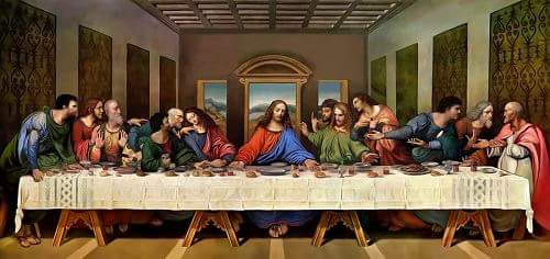 The Last Supper Leonardo da Vinci in Hindi
