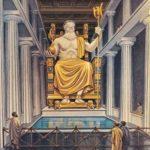 ओलंपिया में ज़ीउस की मूर्ति