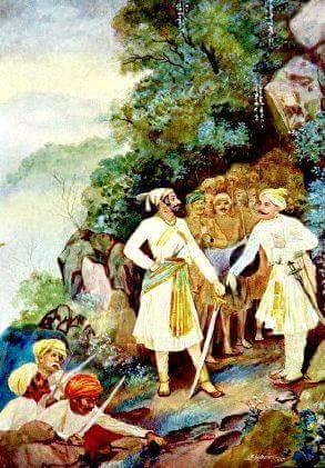 Battle of Pavan Khind in Hindi