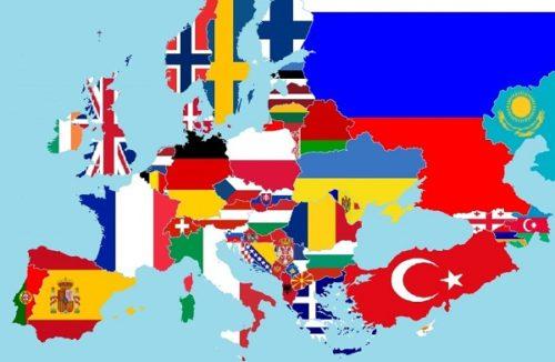 यूरोप में कितने देश हैं