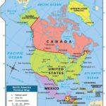 उत्तरी अमेरिका महाद्वीप में कितने देश हैं?
