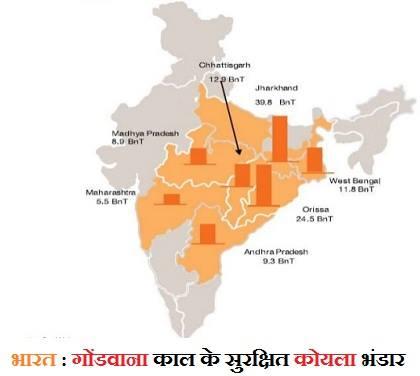 India Coal Reserves in Hindi