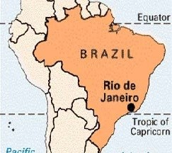 Rio De Janeiro Kis Desh Me Hai in Hindi