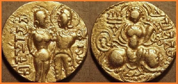 Chandragupta 1 history in Hindi