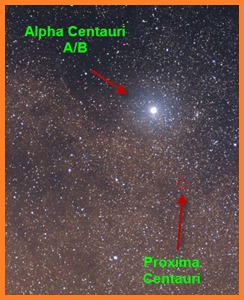 Alpha Centauri Star in Hindi