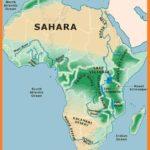 अफ्रीका का प्राकृतिक भूगोल – Natural Geography of Africa in Hindi