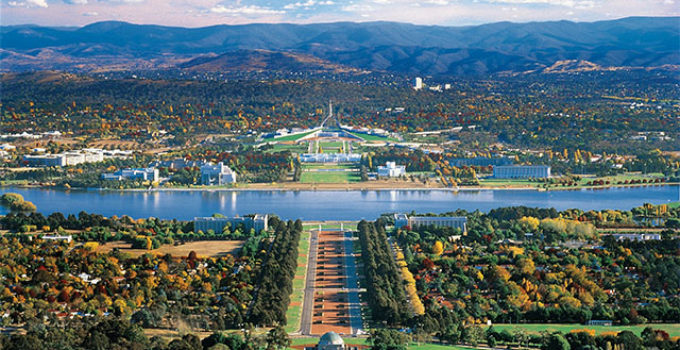Australia खi ईajdhani Canberra